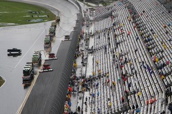 Track drying continues
