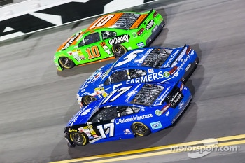 Ricky Stenhouse Jr., Kasey Kahne and Danica Patrick