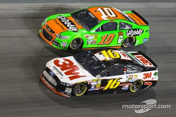 Greg Biffle and Danica Patrick