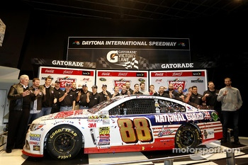 Champion's breakfast: The Team of Dale Earnhardt Jr., Hendrick Motorsports Chevrolet