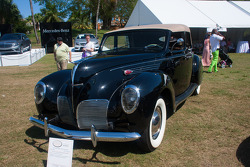 1938 Lincoln Zephyr Sedan Convertible