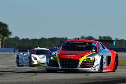 #45 Flying Lizard Motorsports Audi R8 LMS: Nelson Canache, Spencer Pumpelly, Markus Winkelhock, Tim Pappas