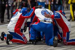 Penske Racing crew members