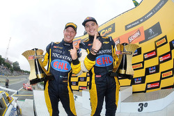 Winners Felipe Fraga and Rodrigo Sperafico, Vogel Motorsport Chevrolet