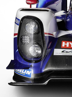 The Toyota TS040 Hybrid