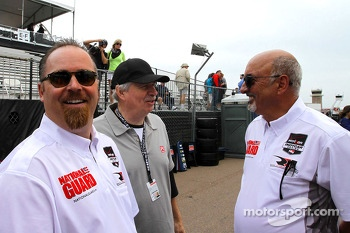 Robin Miller and Bobby Rahal