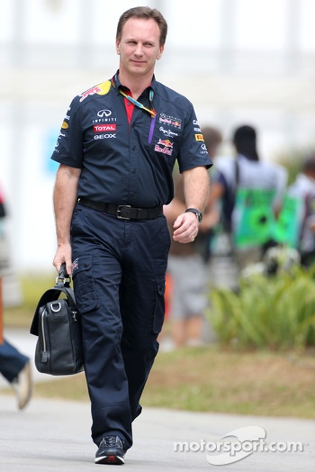 Christian Horner (GBR), Red Bull Racing, Sporting Director