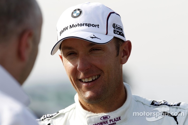 Joey Hand, BMW Team RBM - dtm-hungaroring-march-april-testing-2014-joey-hand-bmw-team-rbm