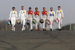 All DTM Champions, Bruno Spengler, Mattias Ekström, Audi Sport Team Abt Sportsline, Audi A5 DTM, Mike Rockenfeller, Audi Sport Team Phoenix Audi RS 5 DTM, Timo Scheider, Audi Sport Team Phoenix Audi RS 5 DTM, Gary Paffett, Mercedes AMG DTM-Team HWA DTM Me