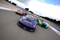 #71 SMP Racing Ferrari F458 Italia GT3: Anton Ladygin, Kiriil Ladygin, Aleksey Basov, Luca Persiani