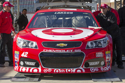 Car of Kyle Larson, Ganassi Racing Chevrolet