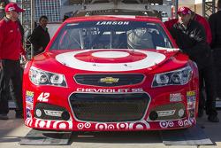 Car of Kyle Larson, Ganassi Racing Chevrolet