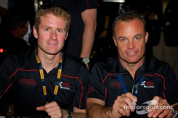 Kia Racing: Mark Wilkins and Nic Jonsson