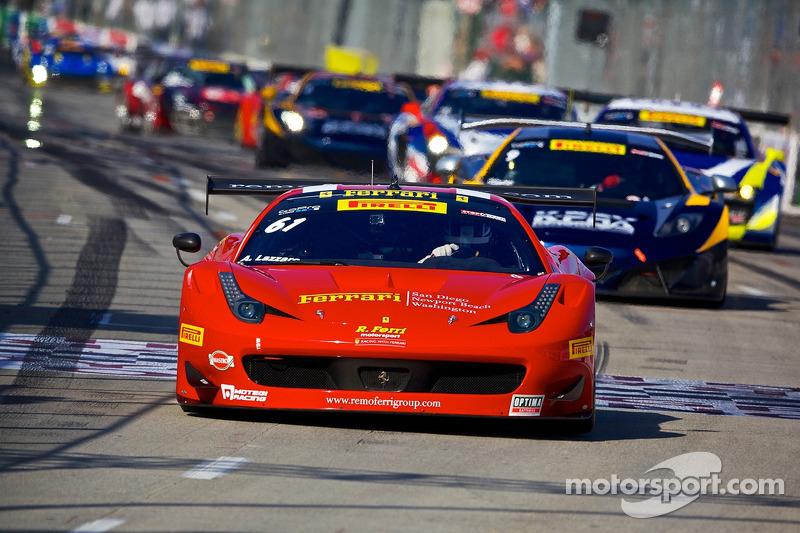61 r ferri motorsports ferrari 458 gt3 italia anthony for Long beach motor sports