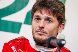 Ferrari North America press conference: Giancarlo Fisichella