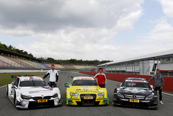 All three Manufactures, BMW M4, Audi RS5 DTM, Merecdes C-Coupe with Martin Tomczyk, BMW Team Schnitzer, Mike Rockenfeller, Audi Sport Team Phoenix, Pascal Wehrlein, Mercedes AMG DTM-Team HWA,
