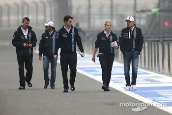 Felipe Massa, Williams F1 Team and Valtteri Bottas, Williams F1 Team