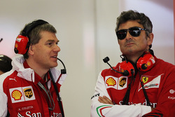 (L to R): Antonello Coletta, Ferrari Corse Clienti