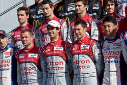 WEC 2014 Drivers Photo