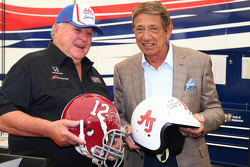 A.J. Foyt with American football legend Joe Namath