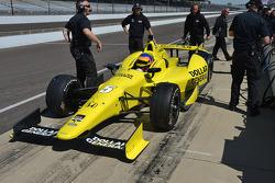 Jacques Villeneuve, Schmidt Peterson Motorsports Honda