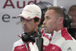 Lucas di Grassi and Tom Kristensen