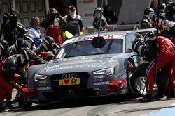 Pitstop, Nico M¸ller, Audi Sport Team Rosberg Audi RS 5 DTM