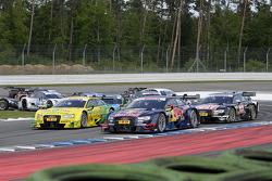 Mattias Ekstrom, Audi Sport Team Abt Sportsline, Audi RS 5 DTM, Mike Rockenfeller, Audi Sport Team Phoenix, Audi RS 5 DTM,