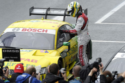 Second place Mike Rockenfeller, Audi Sport Team Phoenix Audi RS 5 DTM