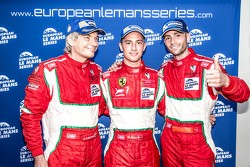 GTC winners Andrea Piccini, Johnny Laursen, Mikkel Mac Jensen