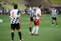 Felipe Massa, Williams at the charity football match
