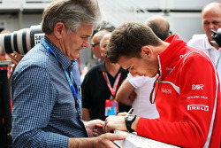 Jules Bianchi, Marussia F1 Team writes a message of support for Michael Schumacher