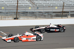 Juan Pablo Montoya, Penske Racing Chevrolet and Will Power, Penske Racing Chevrolet