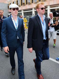 Benedict Cumberbatch, Actor, on the grid