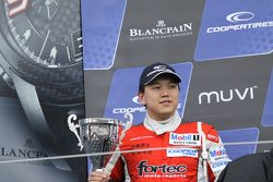 Podium: second place Martin Cao