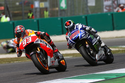 Marc Marquez and Jorge Lorenzo