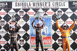 Winner - Helio Castroneves 2nd- Will Power 3rd - Charlie Kimball