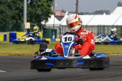 Media/drivers karting race: Dominik Kraihamer