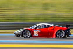 #55 AF Corse Ferrari 458 Italia: Duncan Cameron, Matt Griffin, Michele Rugolo