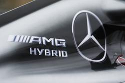 Mercedes AMG F1 W05 engine cover