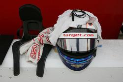 Tony Kanaan's helmet