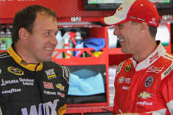 Kevin Harvick and Ryan Newman