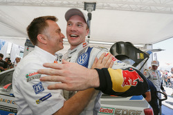 Jari-Matti Latvala with Jost Caputo