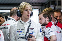 Race officially over for the #20 Porsche Team Porsche 919 Hybrid: Brendon Hartley