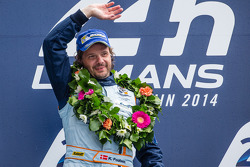 LMGTE Am podium: class winner Kristian Poulsen