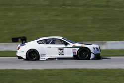 Butch Leitzinger tests the Bentley Continental GT3