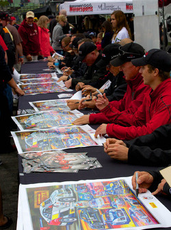 Pirelli World Challenge Drivers Autographs