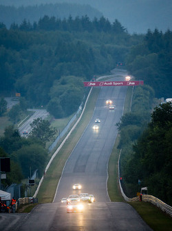 Early morning race action on the Döttinger Höhe