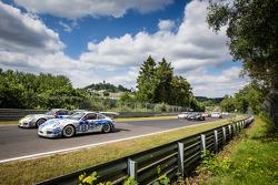 Start: #59 Porsche 997 GT3 Cup: Willie Moore, Bill Cameron, Peter Bonk