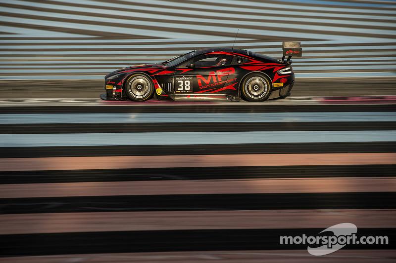 #38 MP Motorsport Aston Martin Vantage GT3: Mark Poole, Joe Osborne, Richard Abra